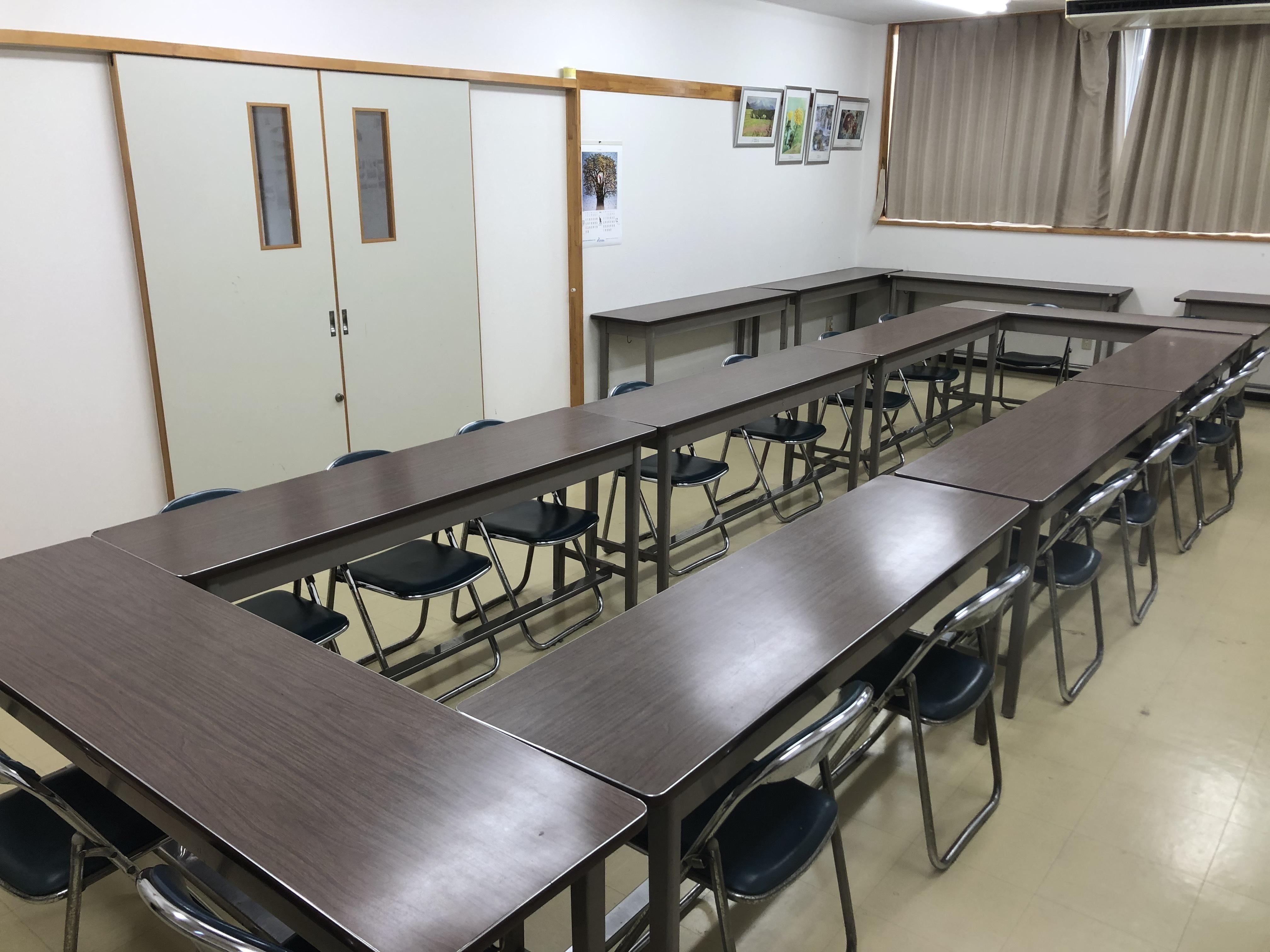 大会議室の室内写真